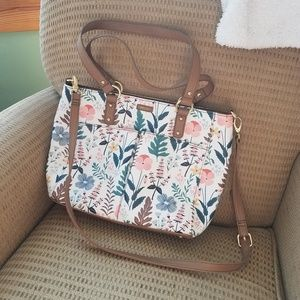 Relic by FOSSIL floral handbag